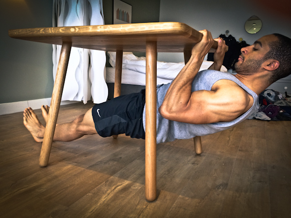 rowing musculation maison