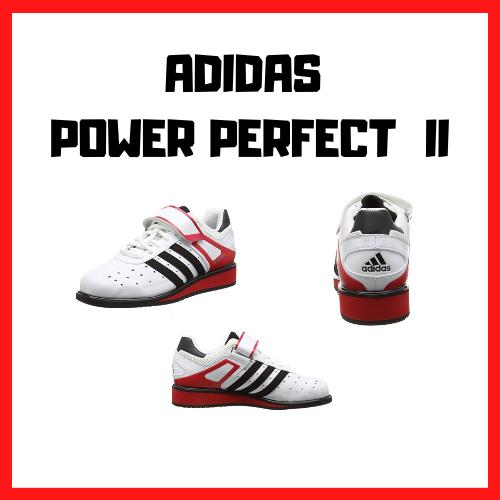 chaussure squat haltérophilie adidas power perfect 2