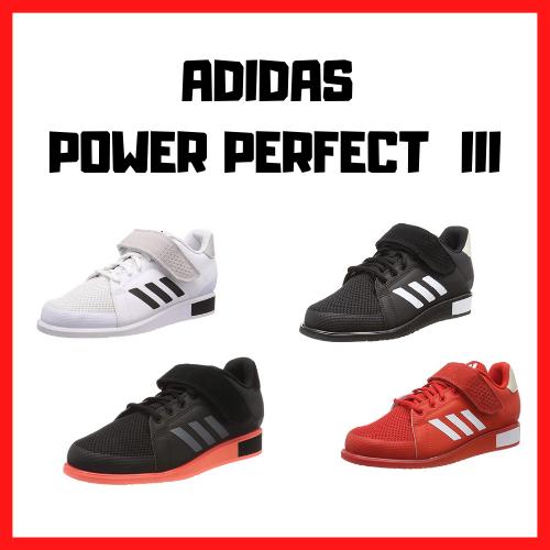 chaussure squat haltérophilie adidas power perfect 3