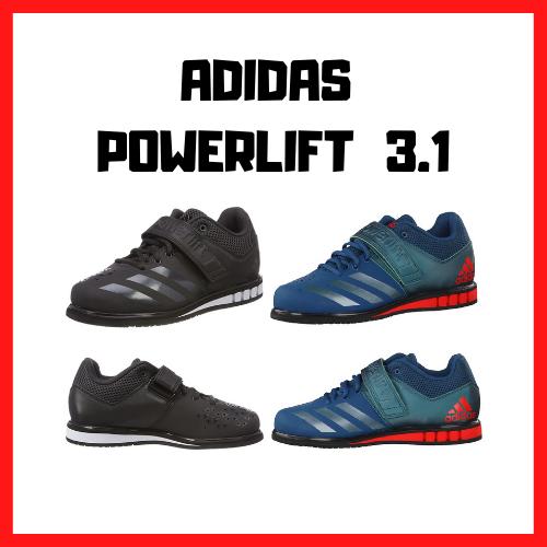 chaussure squat haltérophilie adidas powerlift 3.1
