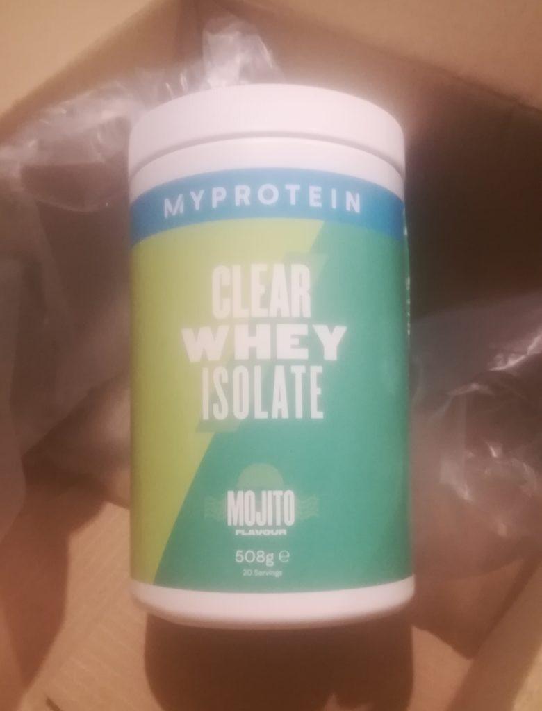 avis clear whey my protein