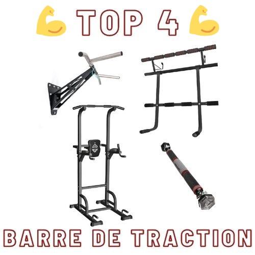 meilleures barres de traction top 4